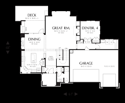 main floor plan image for mascord riverview amazing outdoor spaces and plenty of room for