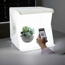 Foldable Light Box Diy Portable Folding Lightbox Photography Led Light Room Photo Studio Light Tent Soft Box Backdrops For Digital Dslr Camera