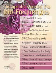 Young Living Essential Oils Frequency Chart Young Living Essential Oils Frequency Chart Best Picture