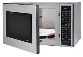 cooking in microwave convection oven. Delighful Oven Stainless Steel Carousel Convection Microwave SMC1585BS U2013 Left Angle  To Cooking In Oven R
