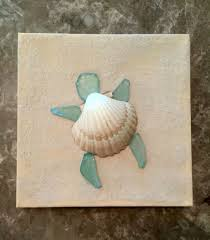 turtle canvas made by kristina gavigan painted canvas with real sand added then turtle made out of glittered shell and sea glass pieces  on lovely sea turtle wall art with turtle canvas made by kristina gavigan painted canvas with real