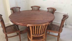 solid pedestal and room cyclone wood reclaimed base pictures round dining sets table for designs splendid