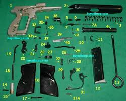 magazine, hungarian pa 63 9x18 pistol hungarian feg pa 63 9x18 9mm Pistol Parts click here for parts picture 9mm pistol parts