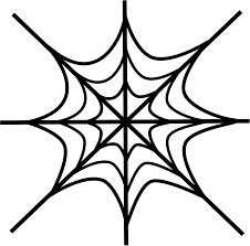 Small Picture Spider Web Coloring Pages Coloring Page