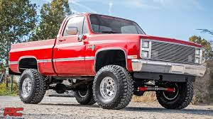1985 Chevrolet K10 Silverado (Red) Vehicle Profile - YouTube
