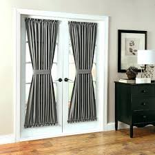 curtains for sliding patio doors door french throughout single panel