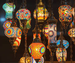 moroccan lamps and lighting