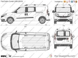 Dimension Interieur Fiat Doblo Maxi: The blueprints vector drawing ...