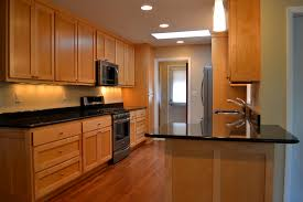 absolute leathered granite countertop for your kitchen design oak kitchen cabinets with under cabinet lighting