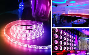 Led Lights All Colors This 27 Led Light Strip Flashes Different Colors In Sync