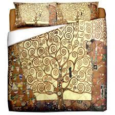 Quilt matrimoniale - KLIMT ALBERO DELLA VITA - dimensioni cm. 250x260 -  tessuto in puro cotone di alta qualità-