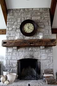 rustic mantel barn beam