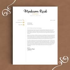 Creative Resume Template The Madison Landed Design Solutions