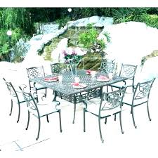 outdoor patio tables chairs dining table round chair cushions furniture