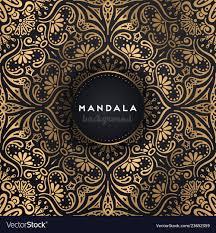 Mandala Design Background Luxury Ornamental Mandala Design Background