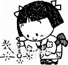 線香花火イラストなら小学校幼稚園向け保育園向けのかわいい無料
