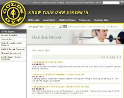 Gold Gym Workout Chart Gold Gym Workout Plan Amtworkout Co