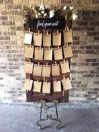 Seating Chart Floor Easel Set All The Rage Decor