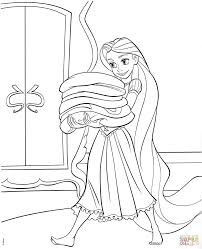 Small Picture Tangled Rapunzel Coloring Pages Tangled Rapunzel Coloring Page