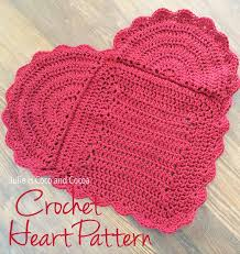 Crochet Heart Pattern Free Fascinating You Are Loved Crochet Heart Pattern Julie Measures