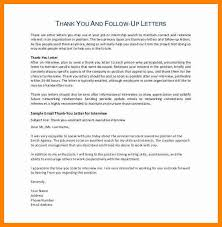 6 Follow Up Interview Email Samples Resume Type