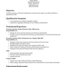 Administrative Assistant Resume Templates Thebridgesummit Co