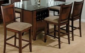 contemporary glass wood kirk extraordinary chairs wooden seater set table dark tables dining and top round