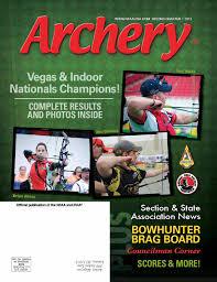 2013 - Second Quarter by National Field Archery Association - issuu