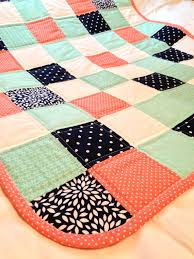 Coral, Navy and Teal baby quilt | Coral navy, Teal and Navy & Coral Navy and Teal baby quilt by CraftyCrewX4 on Etsy Adamdwight.com