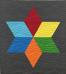 Quilt pattern: Big Star [Free download]   APQS &  Adamdwight.com