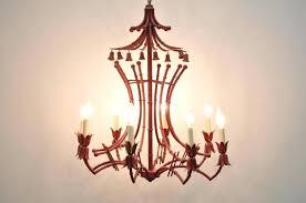 faux chandelier