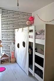 ikea diy bunk bed fort