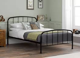 westbrook black metal bed frame  dreams