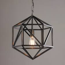 lighting cage. Prism Cage Pendant Light Bronze Lighting M