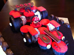 Race Car Cupcake Birthday Cakecentralcom