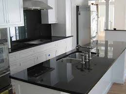 popular black granite kitchen countertops backsplash ideas for black granite countertops the kitchen design