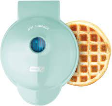 Dash Mini Maker: The Mini Waffle Maker Machine for Individual Waffles,  Paninis, Hash browns, & other on the go Breakfast, Lunch, or Snacks - Aqua:  Amazon.ca: Home & Kitchen