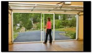 retractable garage door screensCategory Garage Door  Popular Door