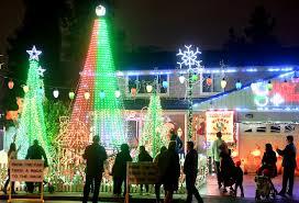 Alameda County Fairgrounds Christmas Lights Photos Christmas Displays Light Up The Holidays