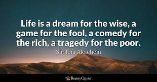 Life Is But A Dream Quote Shakespeare Best Of Dream Quotes BrainyQuote