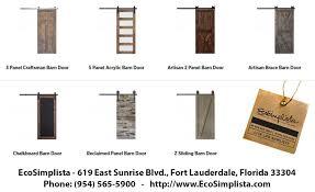 barn doors and barn door hardware by ecosimplista