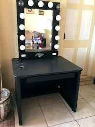 charming makeup table mirror lights. Light Oak Dressing Table Mirror Up Makeup Vanity Medium Size Of Bedroom Charming Lighted With And Lights I