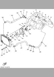 yamaha kodiak 400 parts diagram yamaha image 2002 yamaha kodiak 400 4wd yfm400fap radiator hose parts best on yamaha kodiak 400 parts diagram