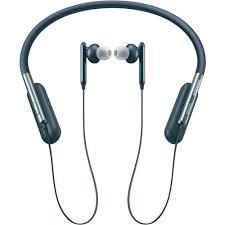 samsung wireless headphones. samsung u flex bluetooth wireless headphones blue (eo-bg950)