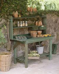 3 Potting Bench 10 Patio Decorating Ideas HowStuffWorks