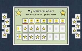 Details About Behaviour Reward Chart Weekly Autism Aspergers Special Needs Adhd
