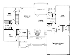 Simple Modern Four Bedroom House Plans Design I  LuxihomeSimple Square House Plans