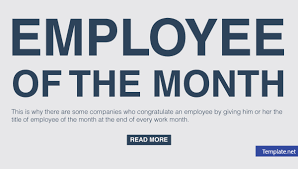 employee of month employee of the month voting forms free premium templates