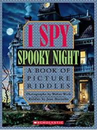 i spy y night a book of picture riddles