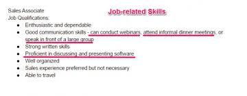 Personal Skills Resume \\u2013 Resume Examples - preferred resume group